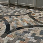 Recycled Granite Pavers in Soft Triangle Sidewalk, Countertops in Orlando Florida