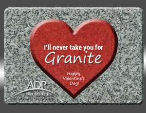 Happy Valentine's Day from ADP Surfaces