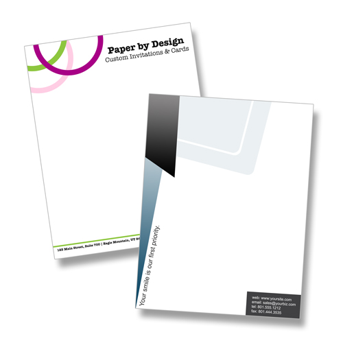 Custom Letterhead Designs