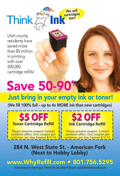 Think Ink, In & Toner Refill Center, American Fork, UT