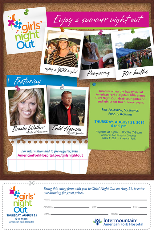 Girls Night Out by American Fork Hospital