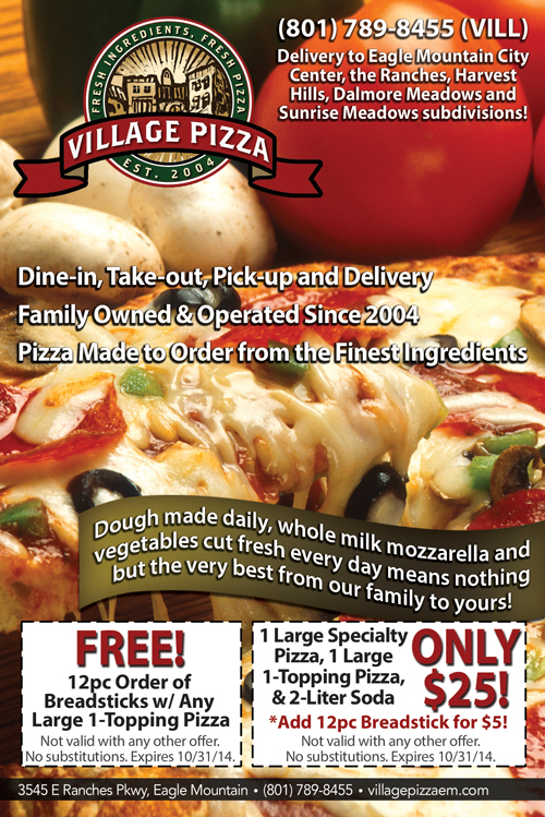 Village Pizza - Special Offers